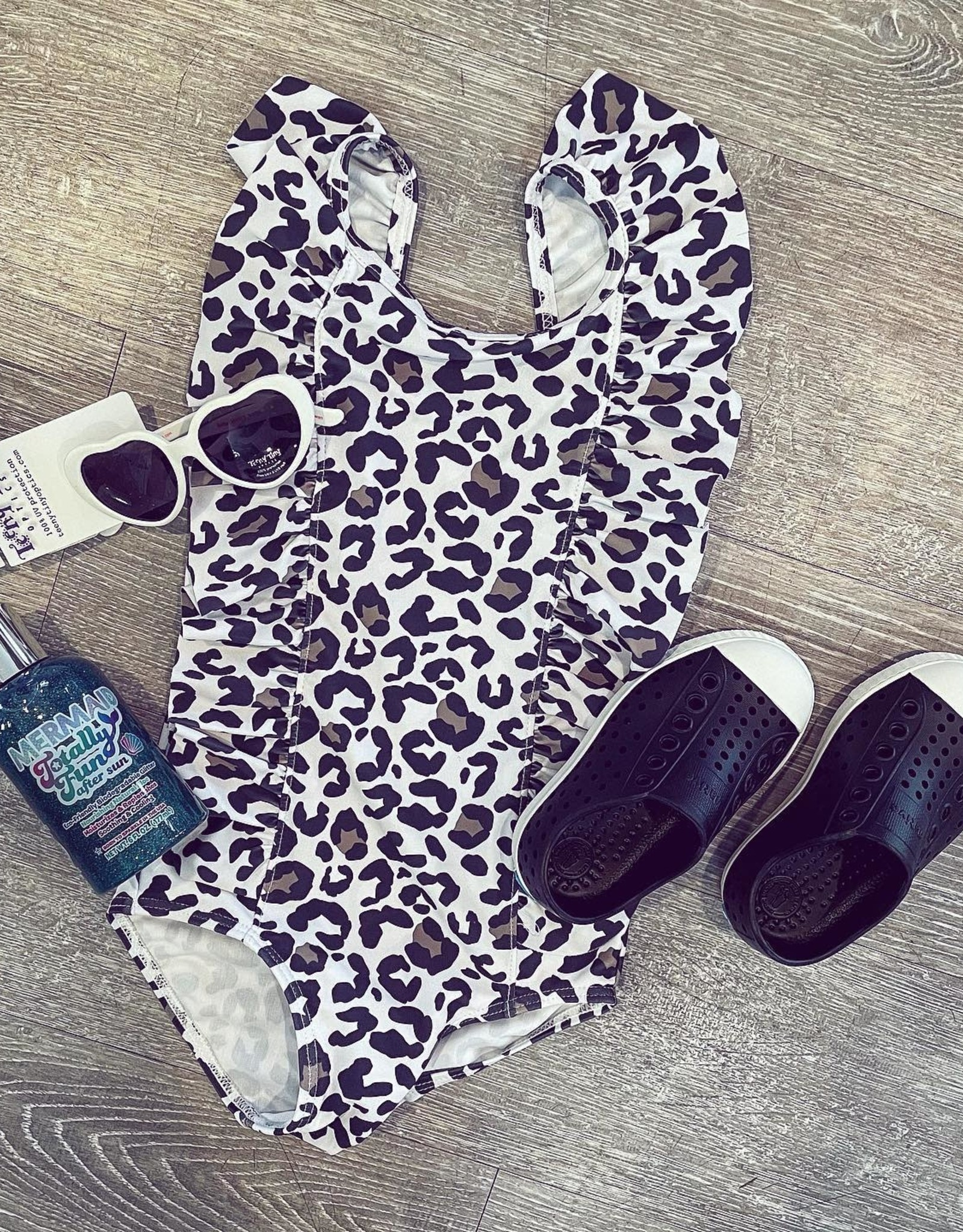 Honeydew Ashley Leopard One Piece Swimsuit