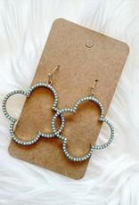 Clover Earring in Mint