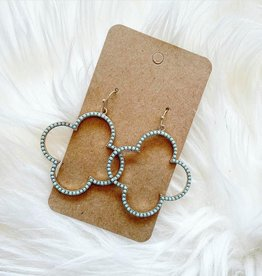 Clover Earring in Mint