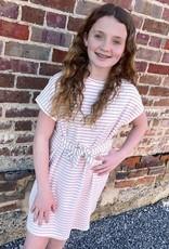 Hayden Kayla Stripe Tie Front Dress