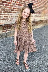 Hayden GiGi Leopard Dress in Latte