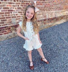 Hayden Lauren Romper in Cream