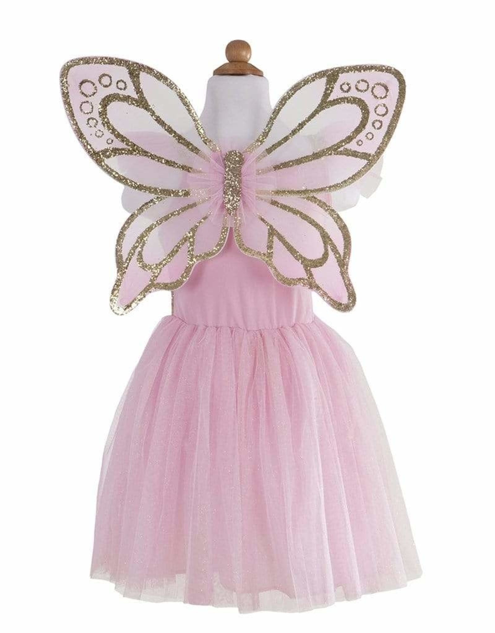 Creative Education Gold Butterfly Dress Size 5-7 #17