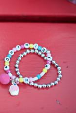 Creative Education Happy Birthday 2 Pcs Bracelet Set