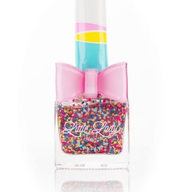 Little Lady Rainbow Bubbles Nail Polish