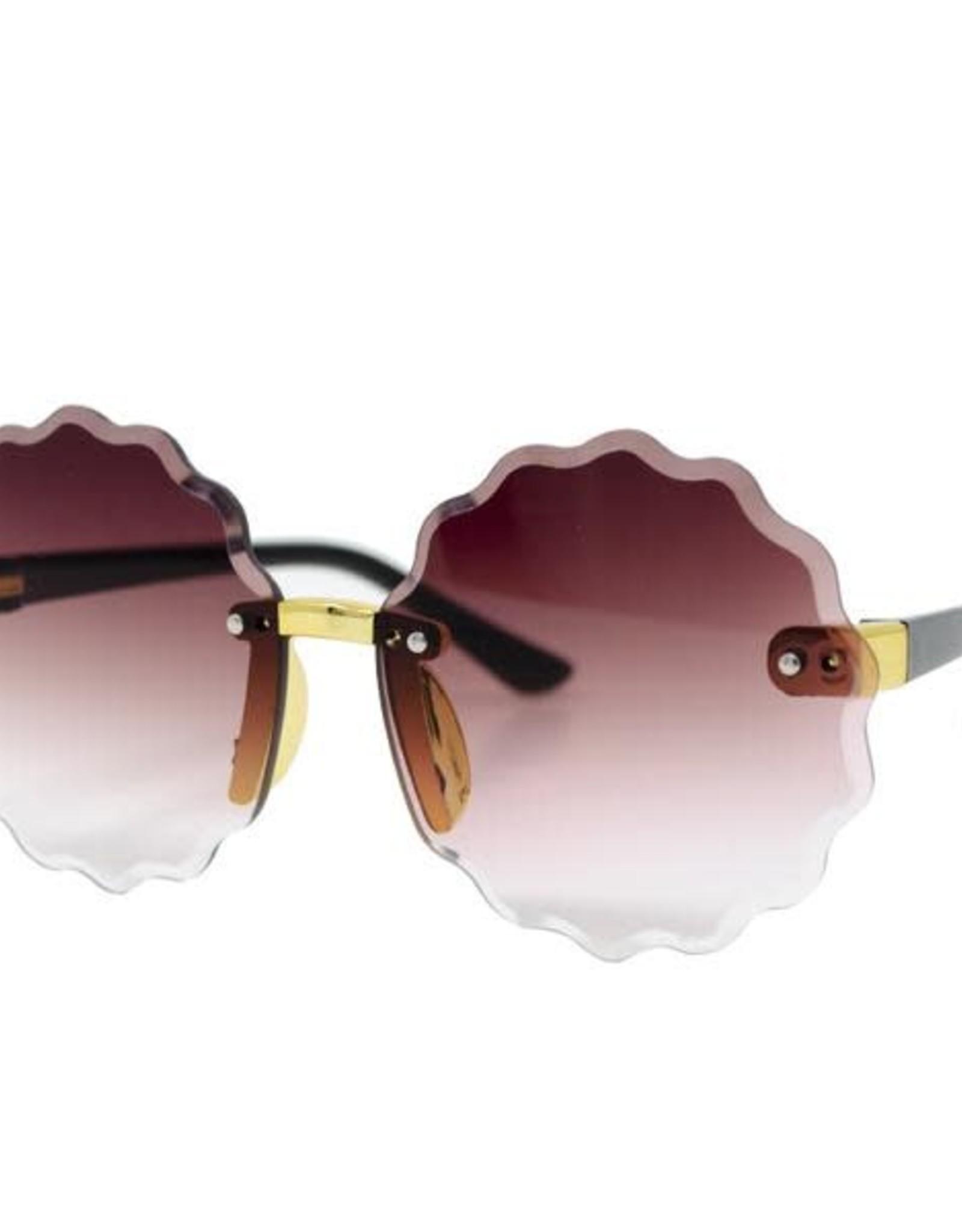 Zomi Gems Frameless Round Sunglasses