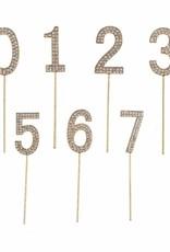 Creative Education Rhinestone Cake Topper Numbers