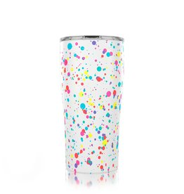 SIC 20 oz Splatter Paint Stainless Steel Tumbler