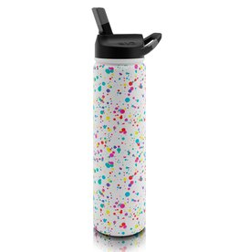 SIC 27 oz Splatter Paint Stainless Steel Water Bottle