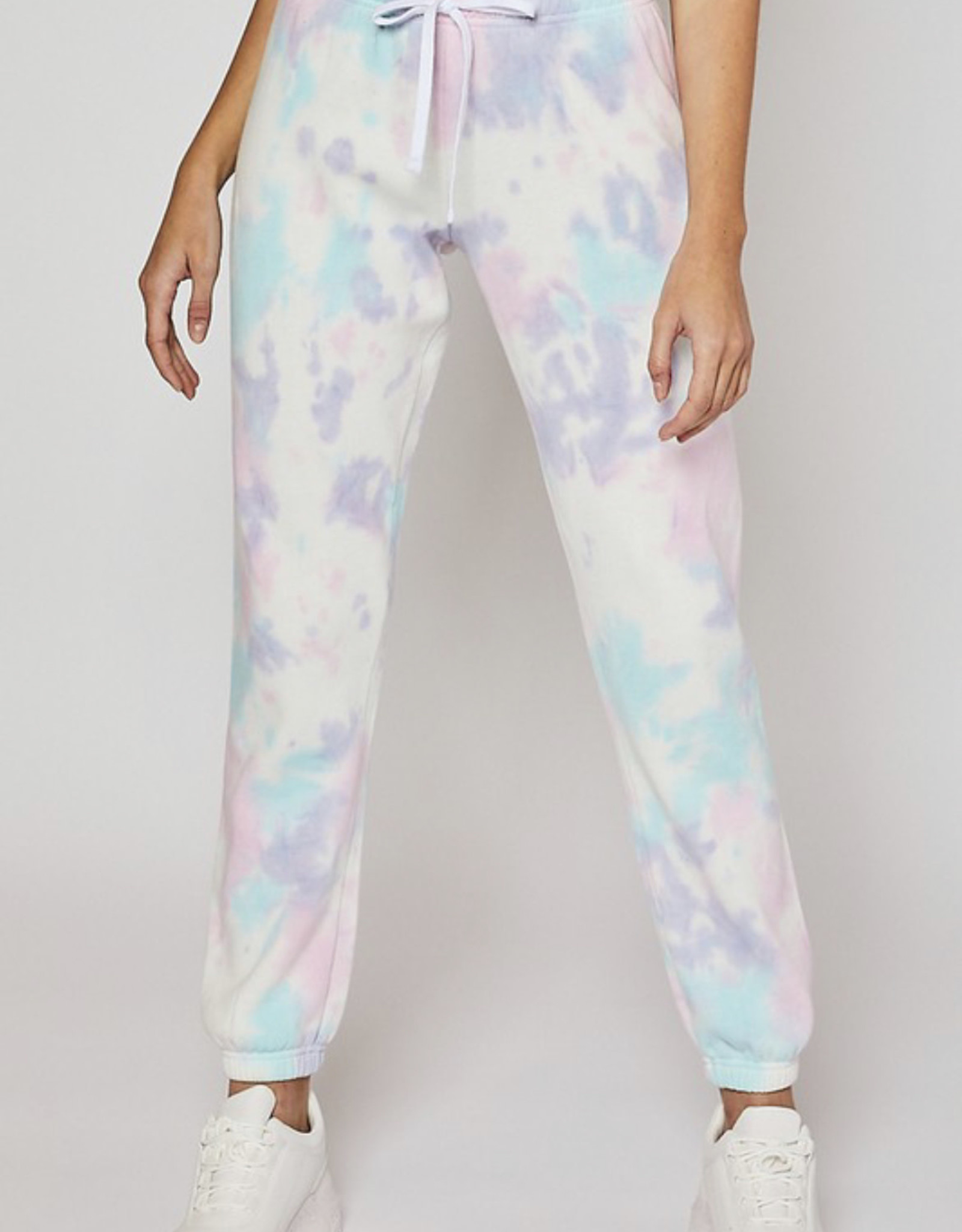 Jammie TieDye Jogger in Cloud