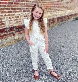 Hayden Polly Jumpsuit in White