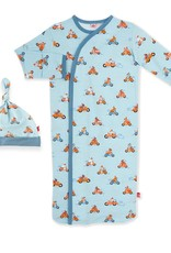 Magnetic Me Easy Rider Gown & Hat Set Size NB-3M