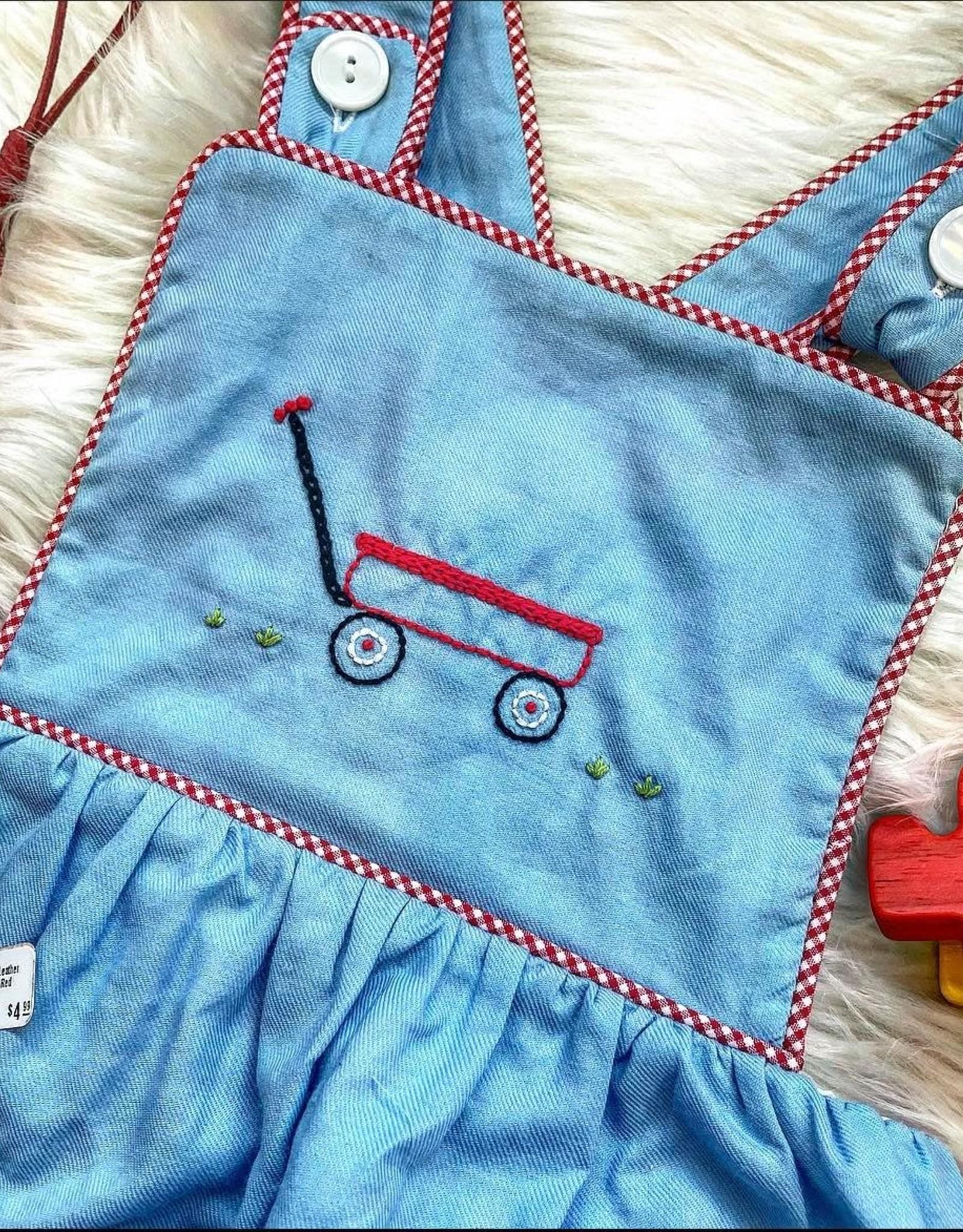 Remember Nguyen Blue Wagon Sunsuit