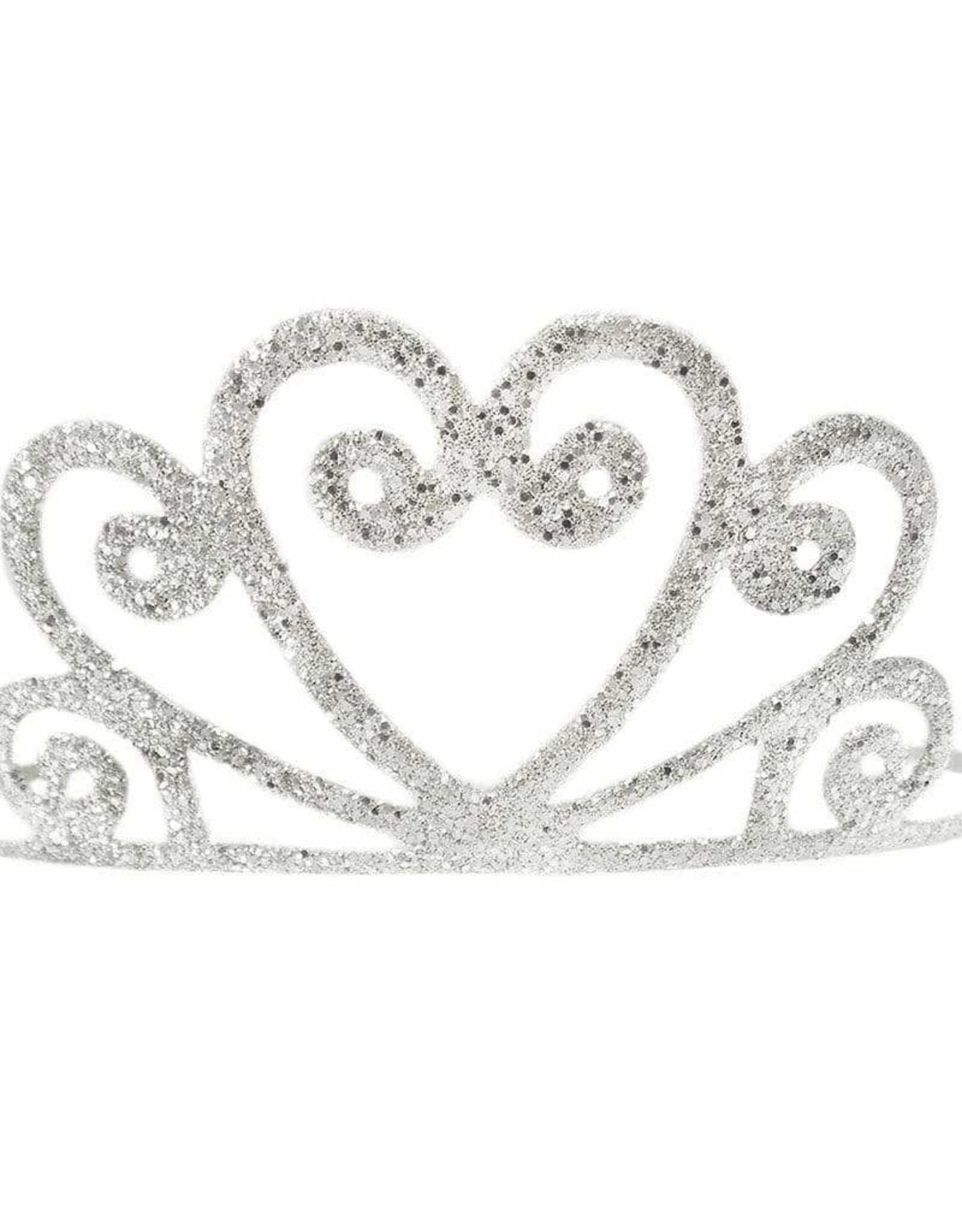 Creative Education Silver Glitter Tiara