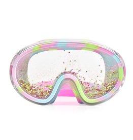 Bling2O Gold Star Float-N-Away Swim Mask