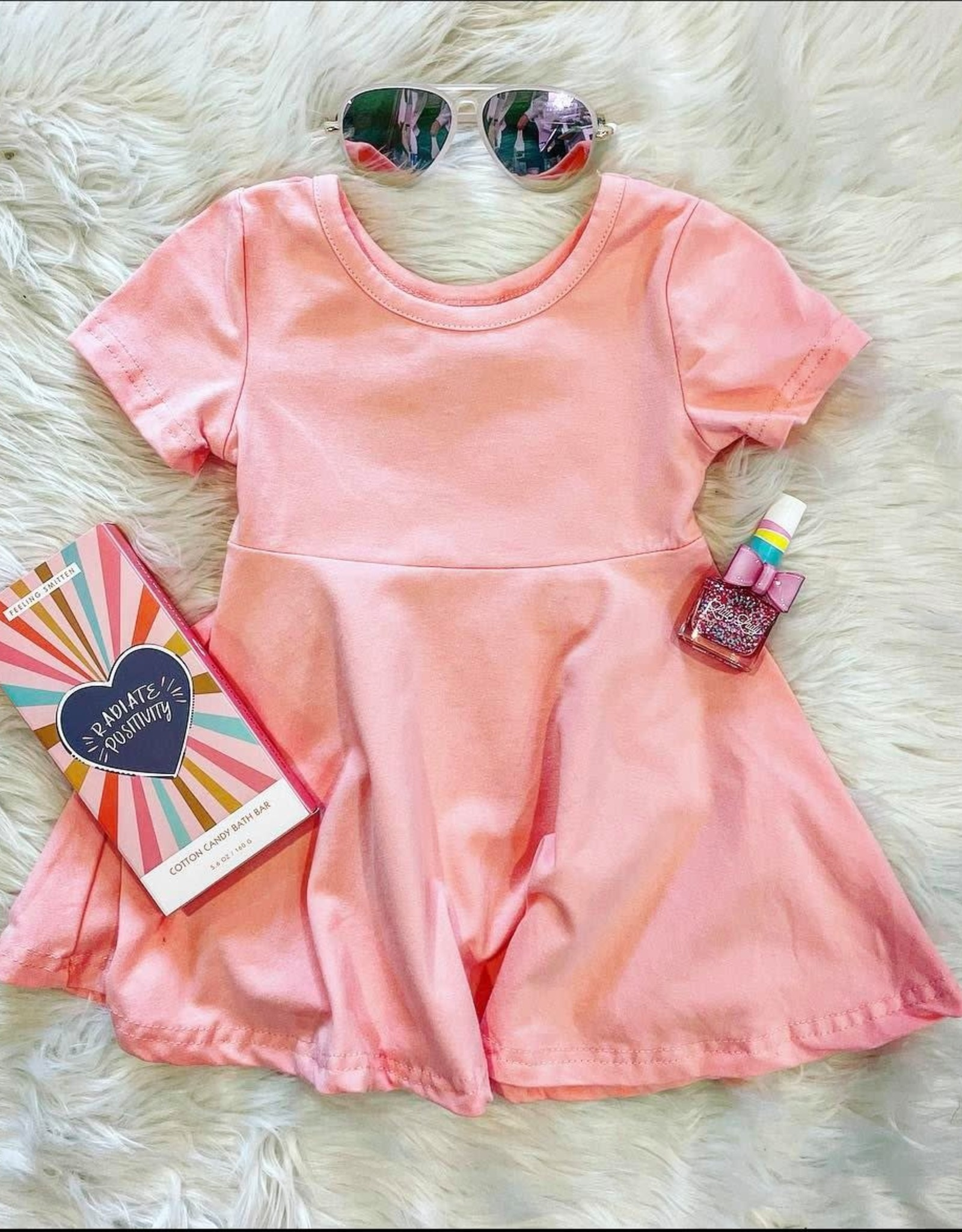 Honeydew Riley Dress in Pink
