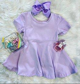 Honeydew Riley Dress in Lavender