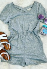 For All Seasons Ashley Romper in Grey