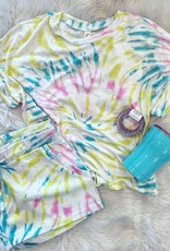 Ava Lounge Short Set in TieDye
