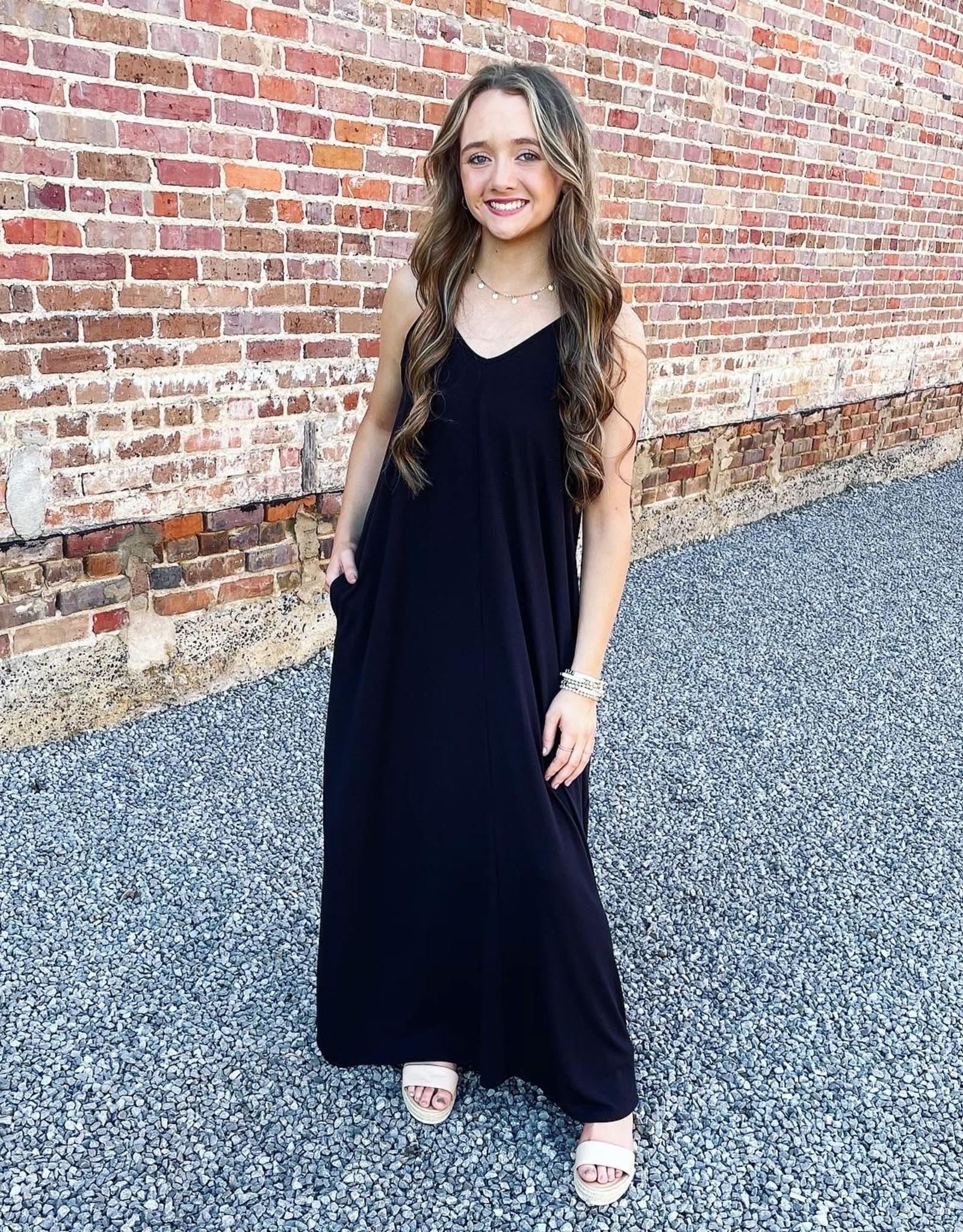 Chasidy Maxi Dress in Black