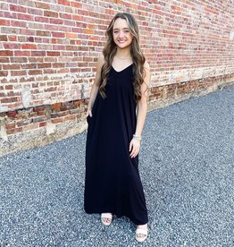 Chasidy Maxi Dress in Black