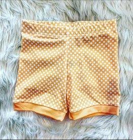 Be Girl Clothing Cartwheel Shorties- Sherbert Dot