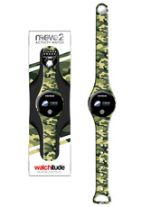 Watchitude Army Camo -  Move2 - Kids Activity Plunge Proof Watch