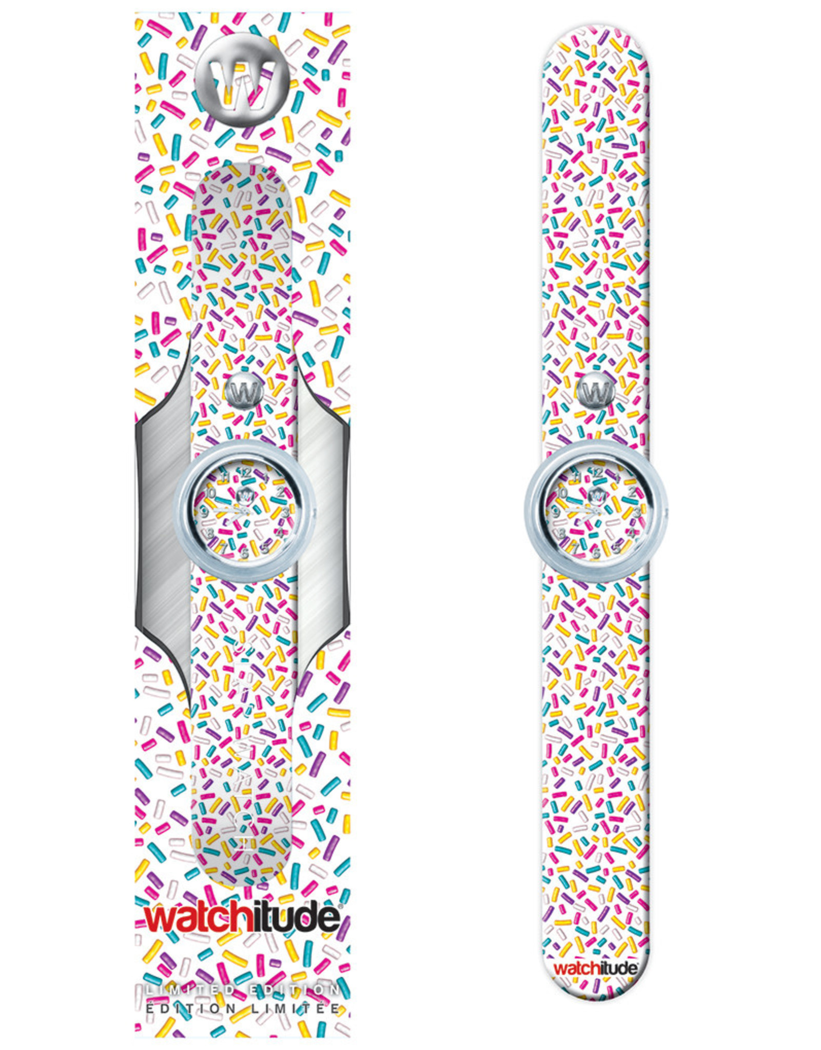 Watchitude Sprinkles - Slap Watch