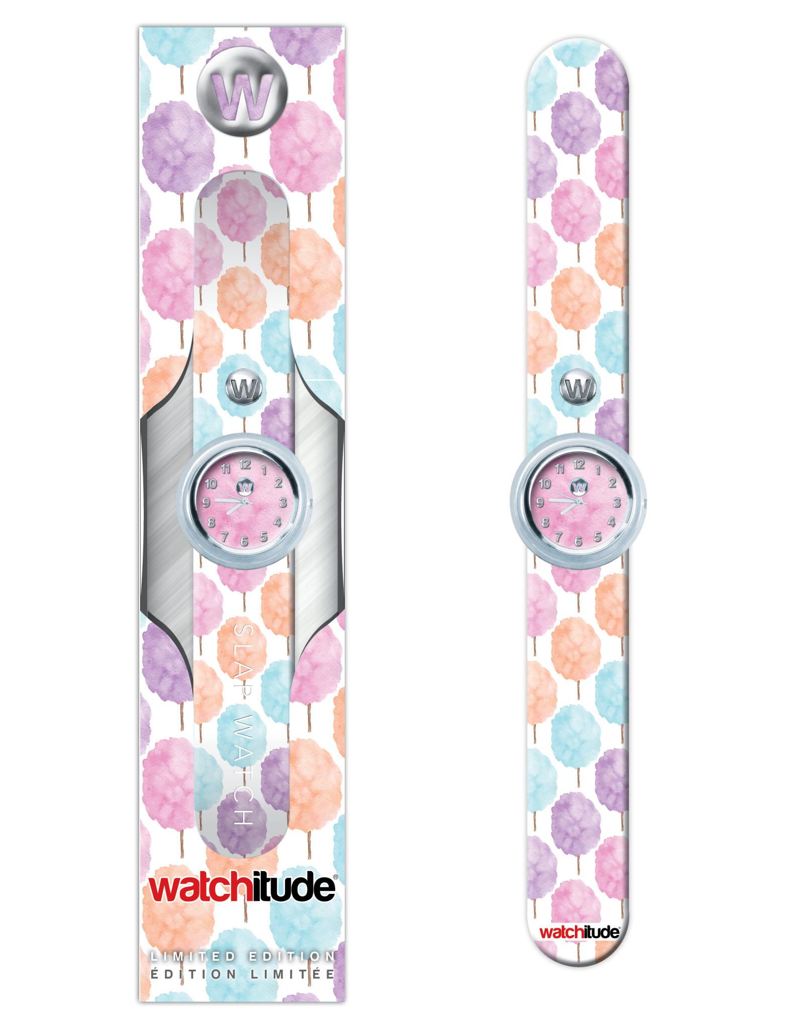 Watchitude Cotton Candy -  Slap Watch