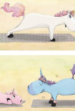 Unicorn Yoga Book