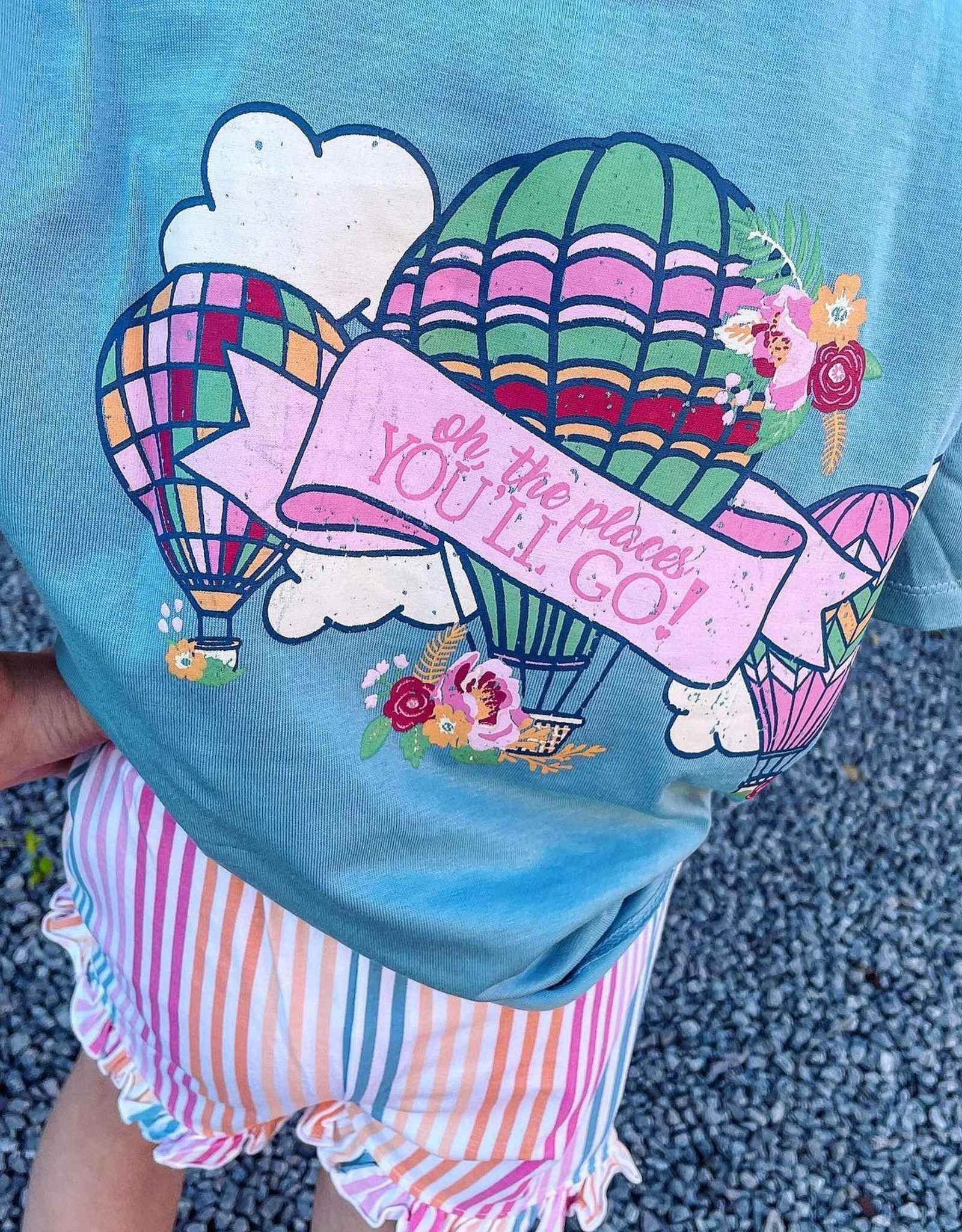 RuffleButts Places You'll Go Tee