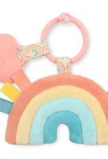 Itzy Ritzy Rainbow Itzy Pal Plush + Teether