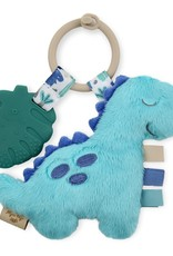 Itzy Ritzy Dino Itzy Pal Plush + Teether