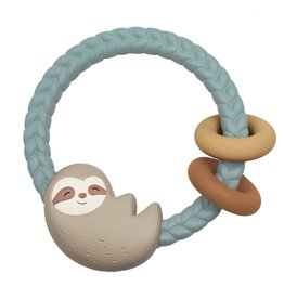 Itzy Ritzy Sloth Ritzy Rattle Silicone Teether