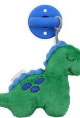 Itzy Ritzy Sweetie Pal Plush & Pacifier in Dino