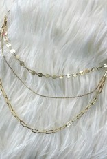 3 Chain Layer Necklace
