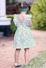 RuffleButts Chasing Rainbows Butterfly Sleeve Dress