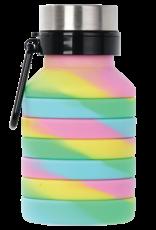 Iscream Swirl Tie Dye Collapsible Water Bottle