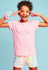 Iscream Swirl Tie Dye Plush Shorts