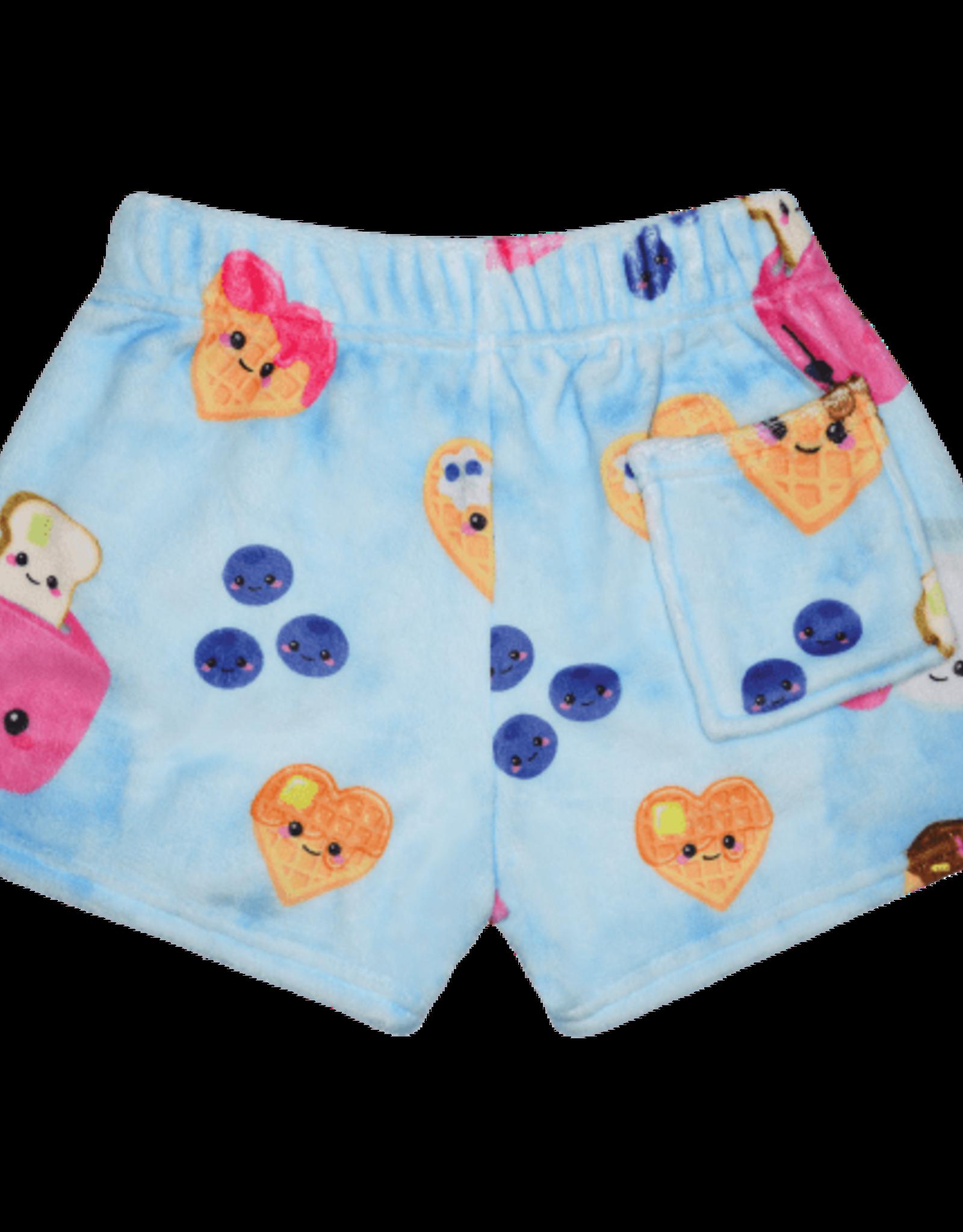 Iscream Breakfast Fun Plush Shorts