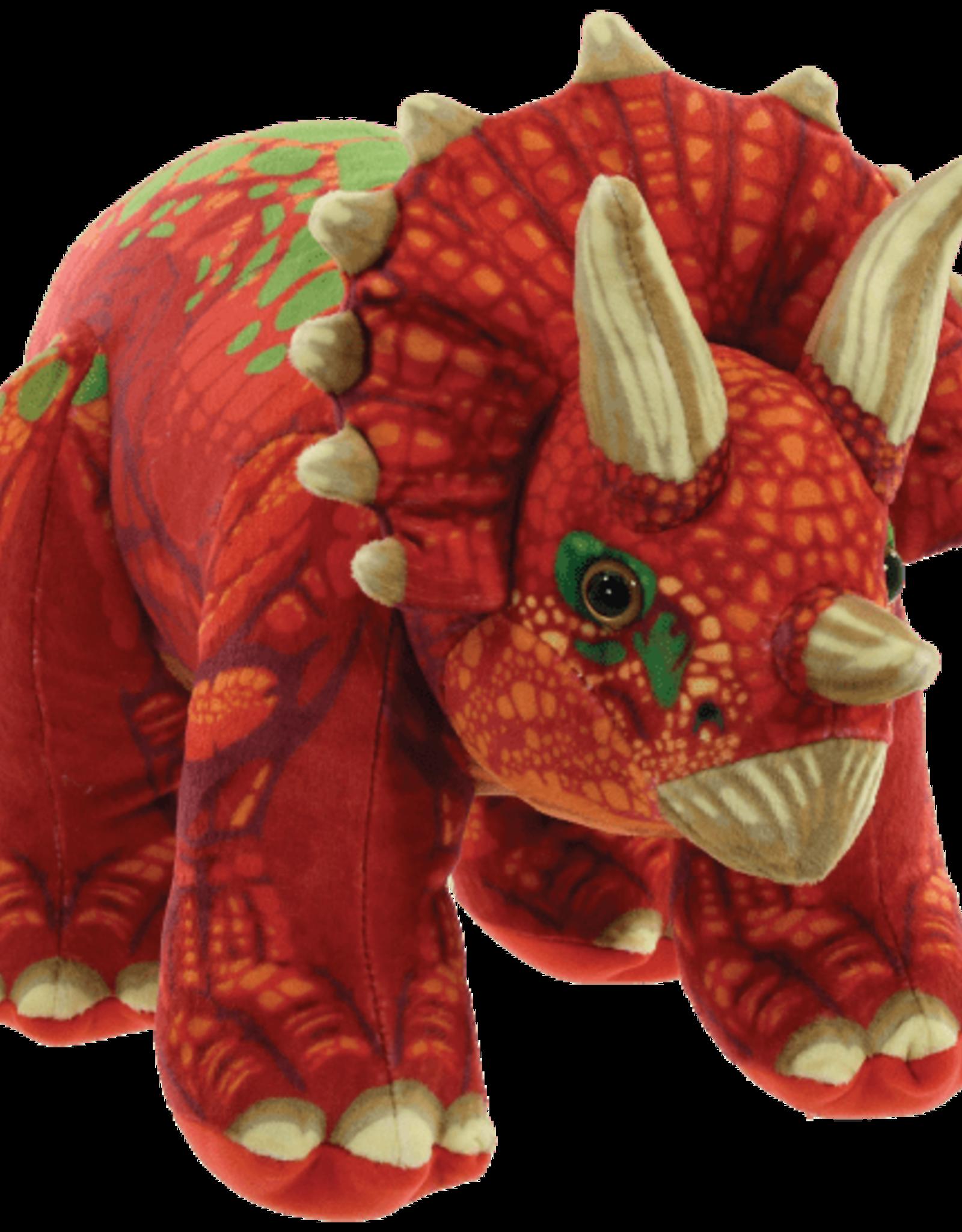 Iscream Triceratops Fleece Pillow