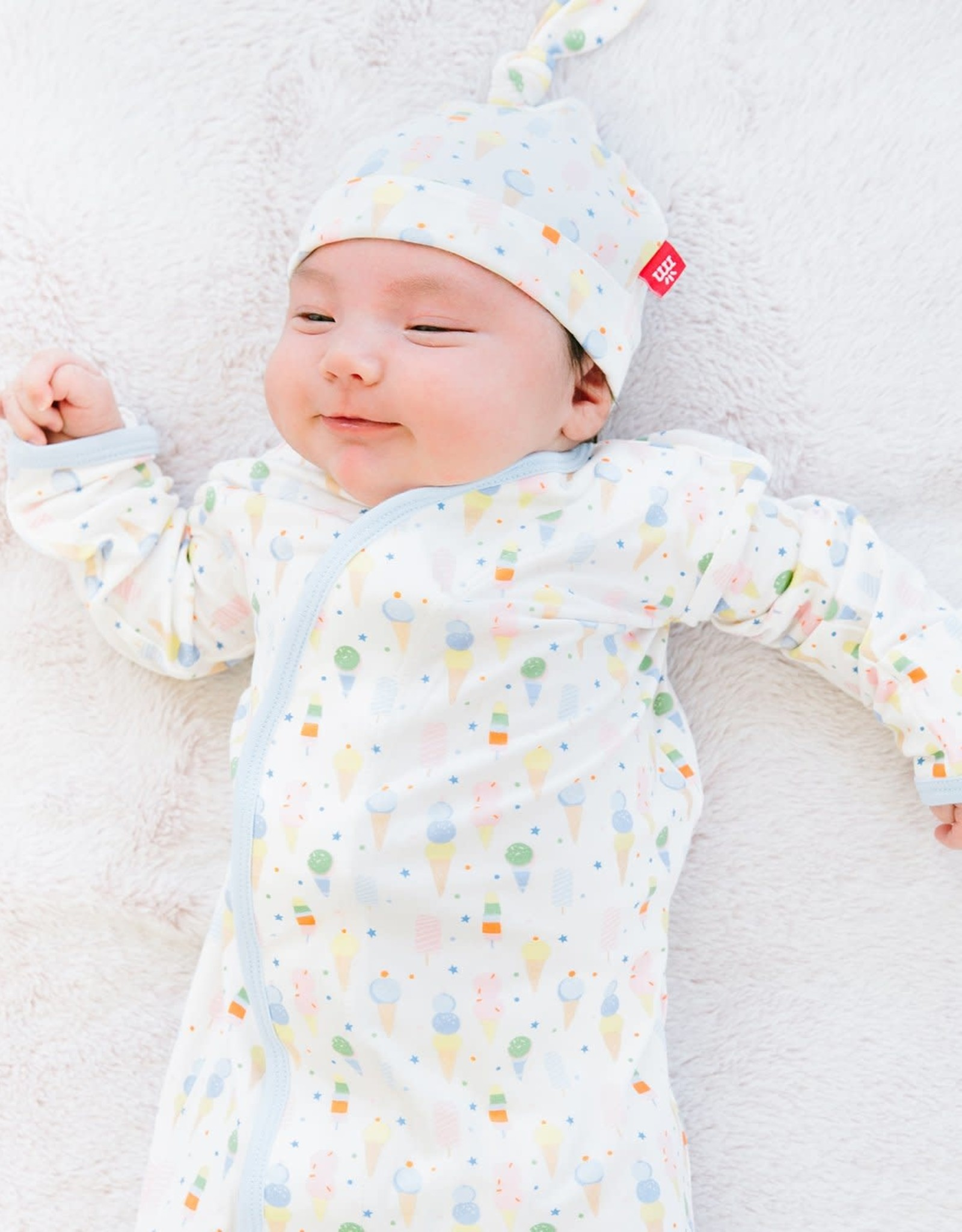 Magnetic Me Ice Ice Cream Magnetic Gown & Hat Set Size NB-3M