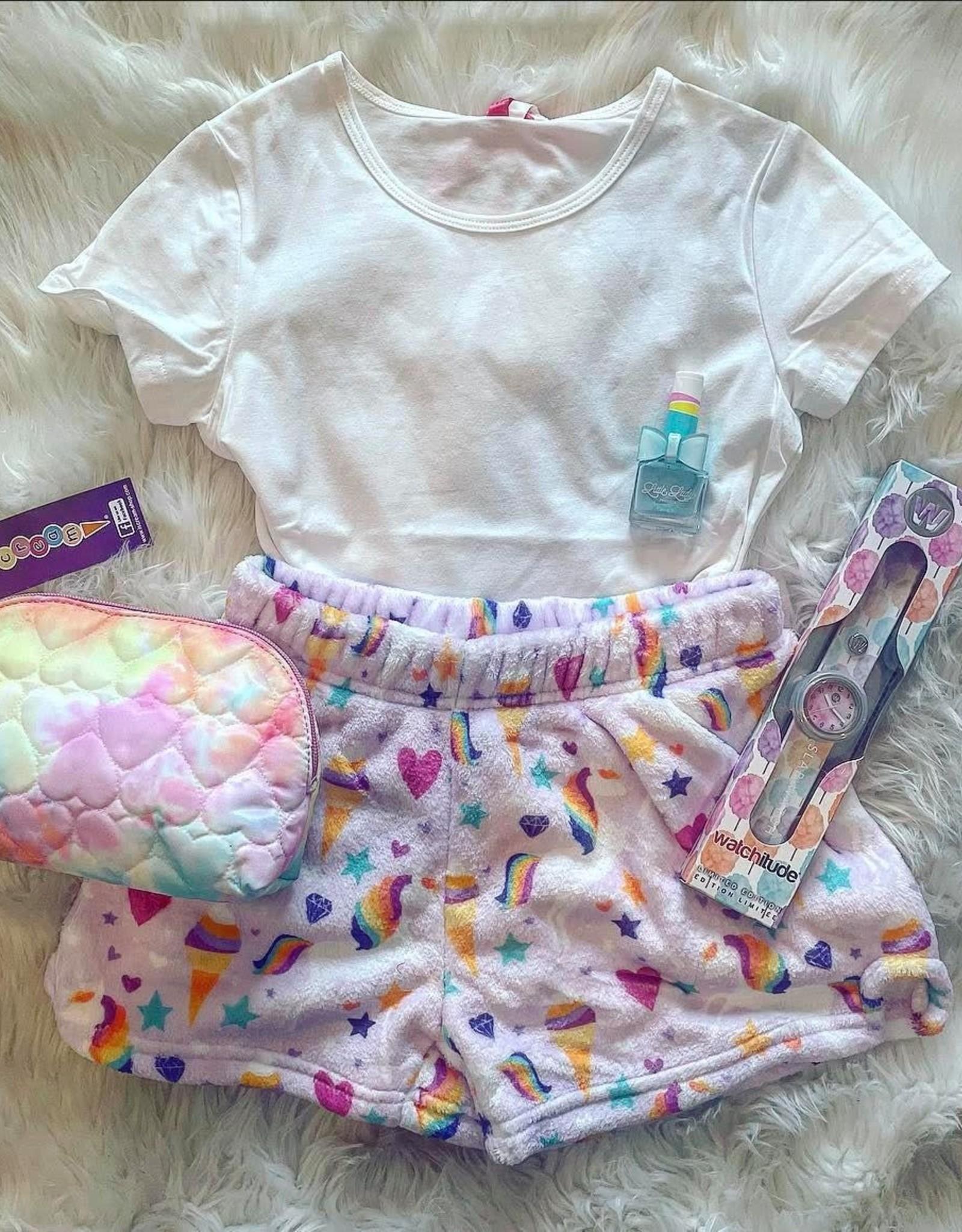 Iscream Magical Unicorn Plush Shorts