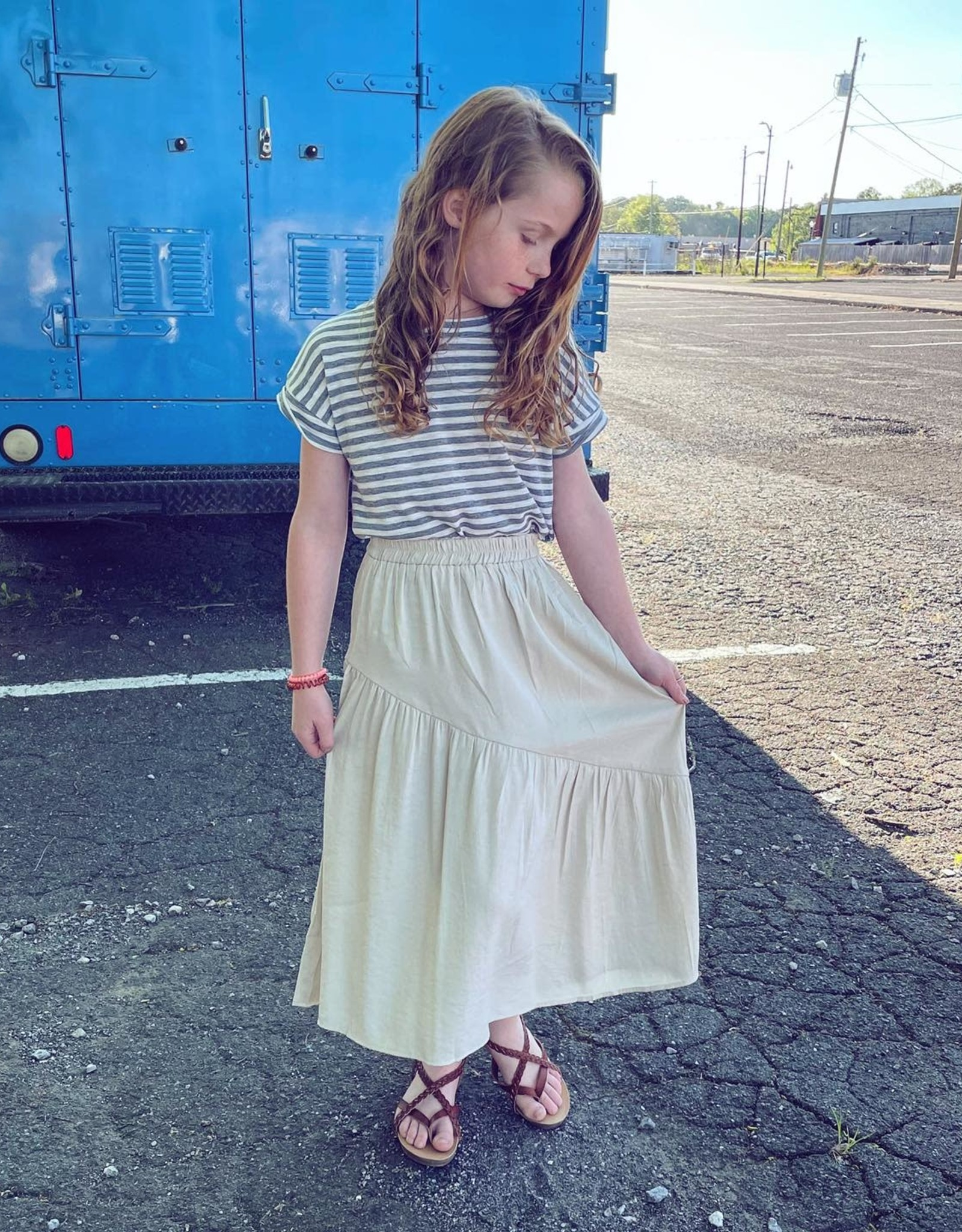Hayden Cheyenne Skirt in Beige