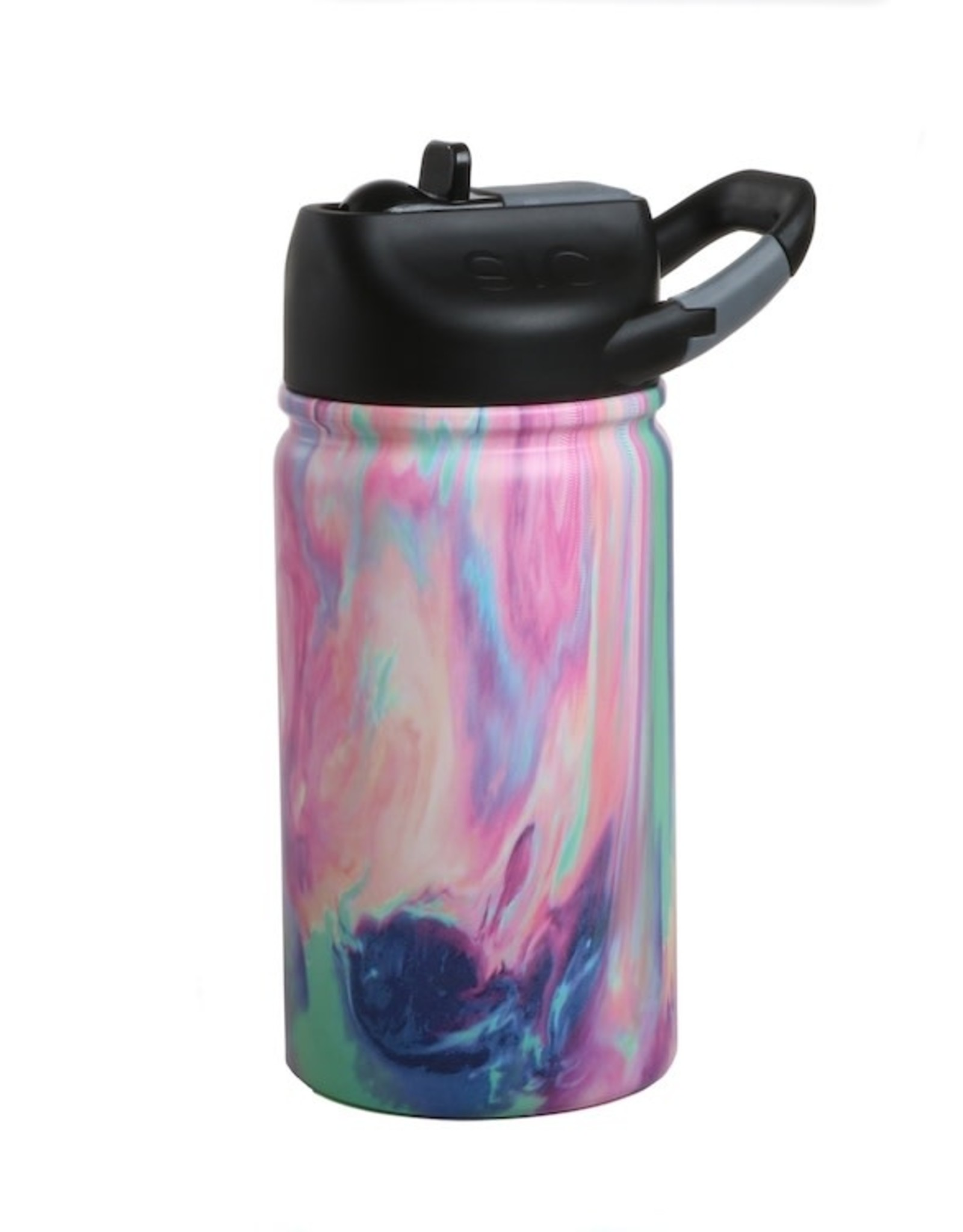 SIC 12 oz Cotton Candy Stainless Steel Water Bottle