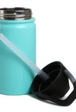 SIC 12 oz Seafoam Blue Stainless Steel Water Bottle