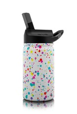 SIC 12 oz  Splatter Paint Stainless Steel Water Bottle