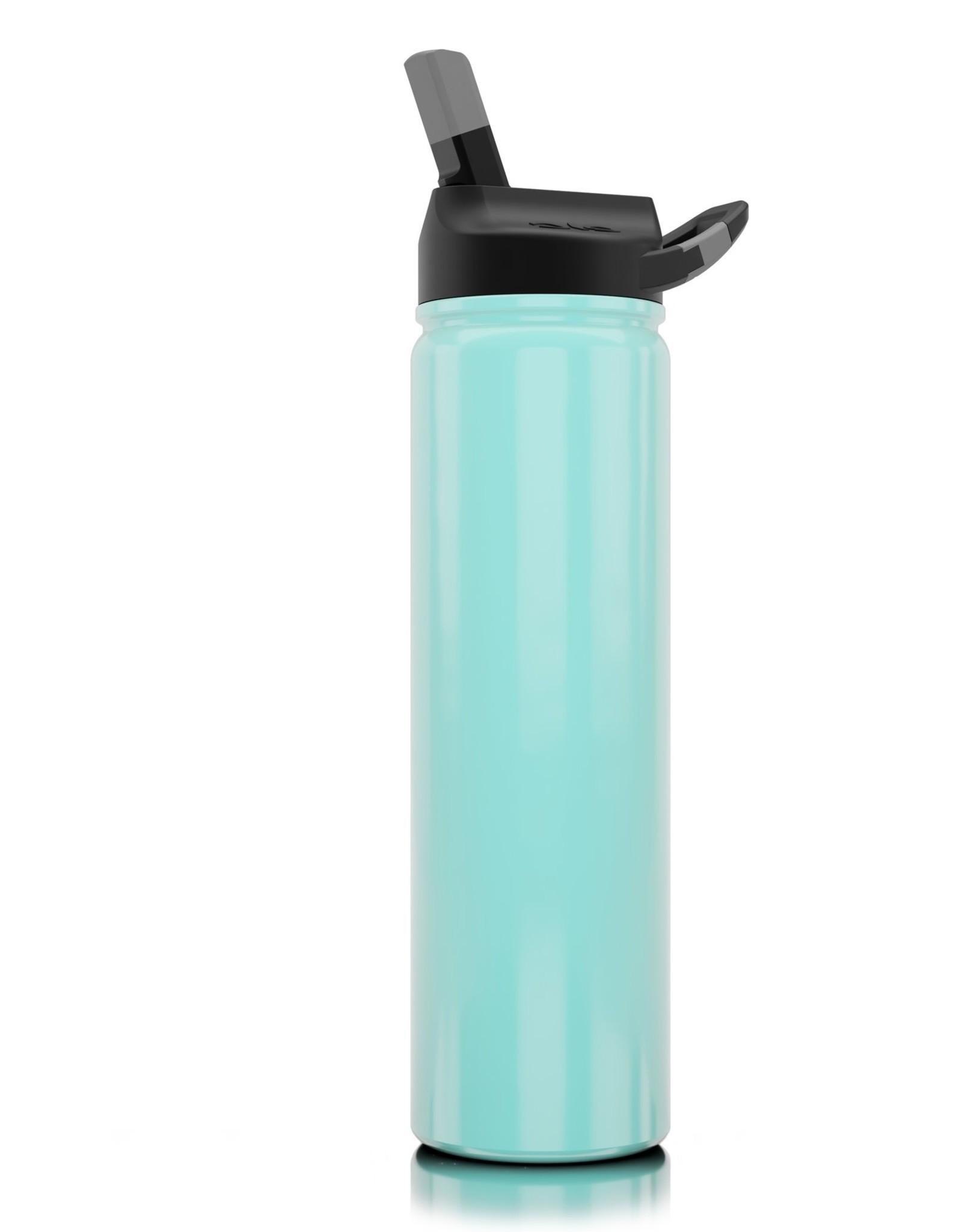 SIC 27 oz Gloss Seafoam Blue Stainless Steel Water Bottle