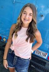 Olivia Tank in Peach