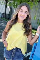 Olivia Tank in Yellow